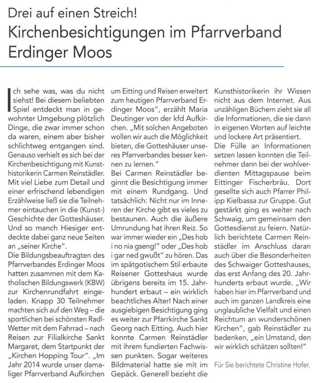 2019-07-12_Pressebericht_Kirchenbesichtigungen_PV_Oberdinger_Kurier_04
