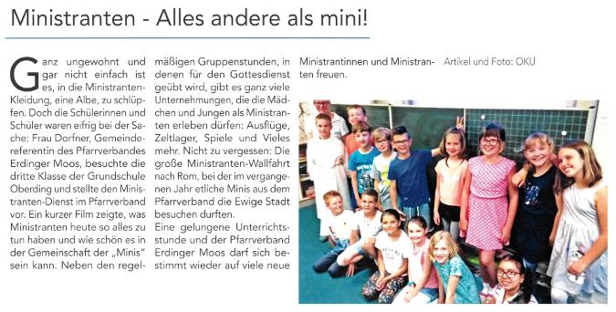 2019-07-12_Pressebericht_Vorstellung_Ministrantendienst_Oberdinger_Kurier_03
