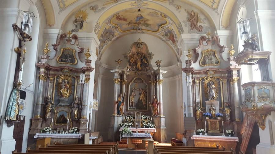 Kirche Glonn Innenansicht