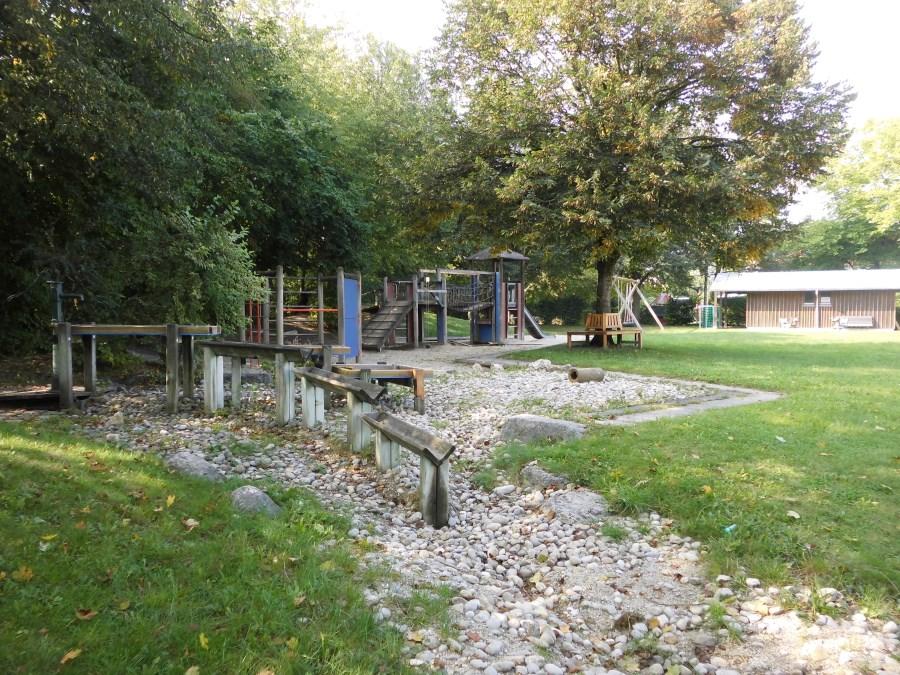 Garten Wasserbahn