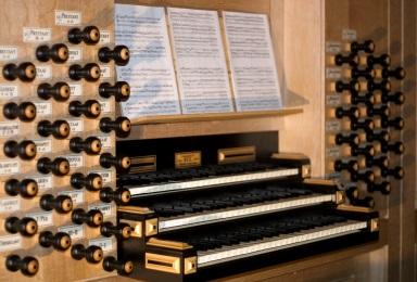 Orgel St. Nikolaus Spieltisch