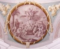 Albaching, St. Nikolaus, Deckengemälde, Mariä Himmelfahrt, Christian Wink, 1792