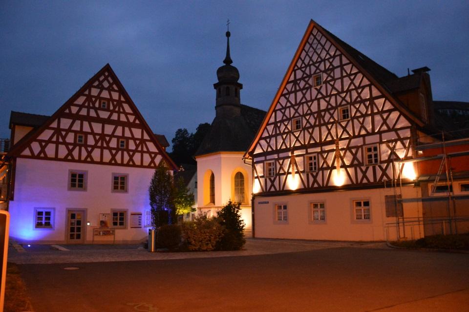 Waischenfeld bei Nacht