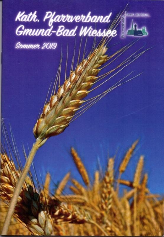 Pfarrbrief Deckblatt 2019 Sommer