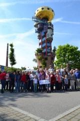 Hundetrwasser-Turm mit Chor