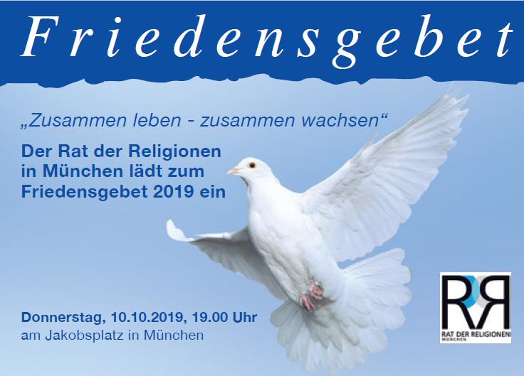 Friedensgebet 10.10.2019