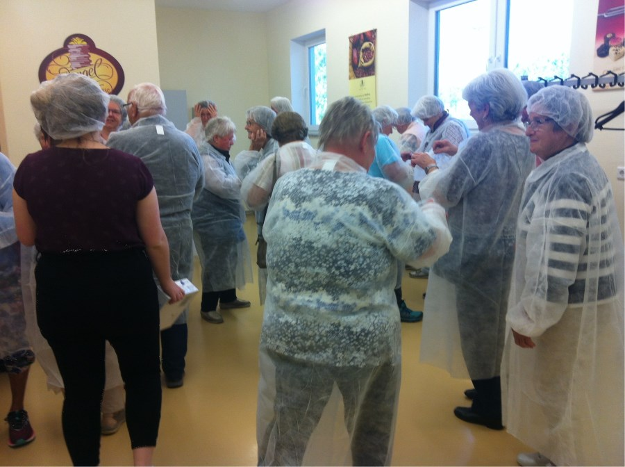 Besuch der Grabenstätter Senioren in Rott am Inn