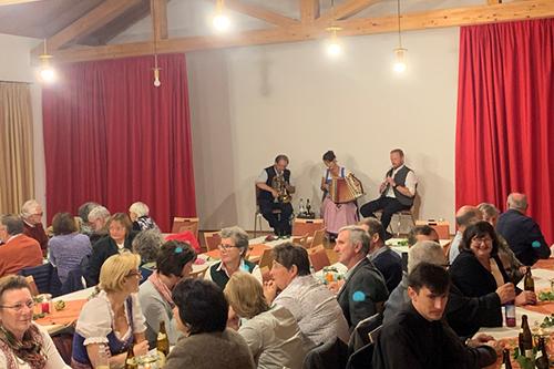 Feier im Pfarrheim Bergen