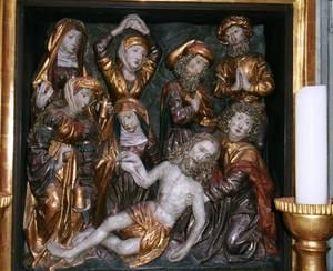 Beweinung und Grablegung Christi