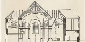 Querschnittzeichnung St. Rupert Söllhuben