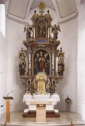 Altarraum St. Rupert Söllhuben