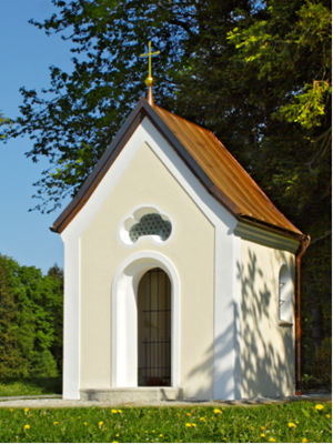 Johannes der Täufer-Kapelle in Kohlstatt der Familie Kink (beim Samer)