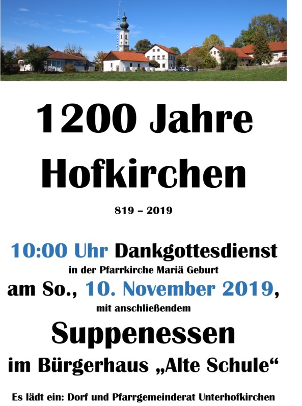 PVT_Hofkirchen_1200_Jahre_Plakat