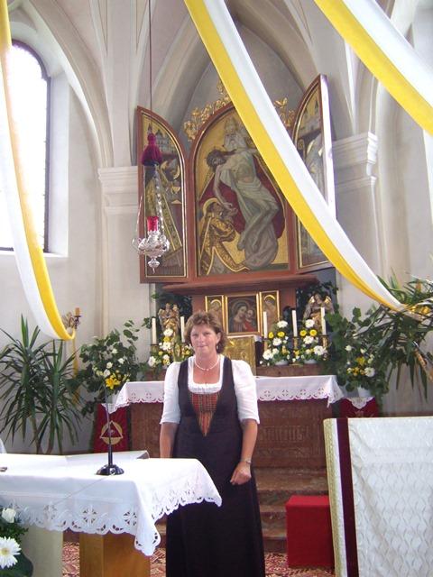 Mesnerin Annelies Streitwieser Ruhestand