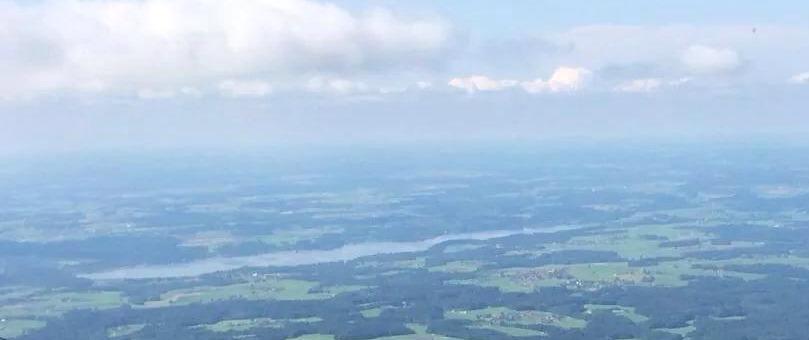 Luftaufnahme des Pfarrverbands Riedering
