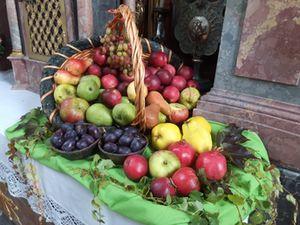 Erntedank Äpfel