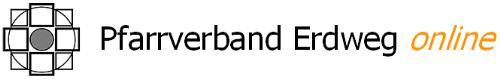 Schriftzug Pfarrverband Erdweg online mit Logo