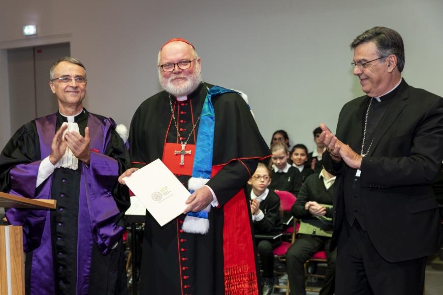 Verleihung der Ehrendoktorwürde des Institut Catholique de Paris an Kardinal Marx