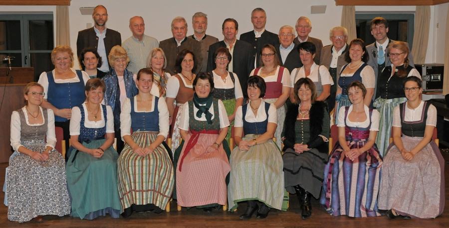 Gruppenbild des Kirchenchors Söllhuben