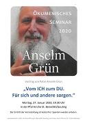 Vortrag von Pater Anselm Grün klein
