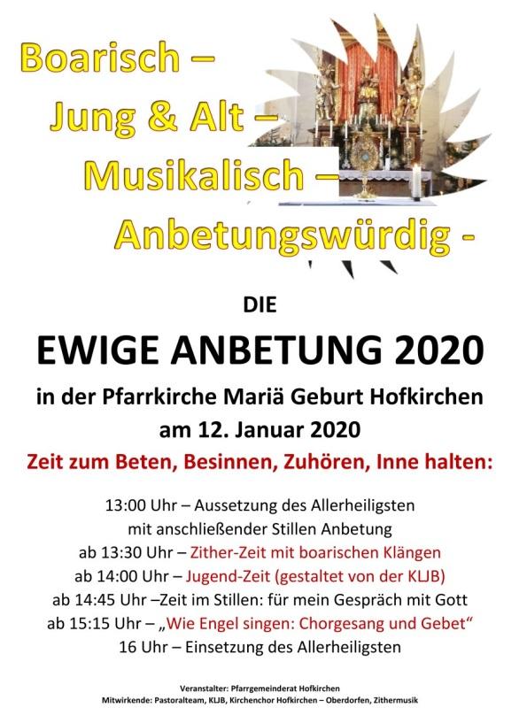 PVT_Hofkirchen_Plakat_Ewige_Anbetung_2020
