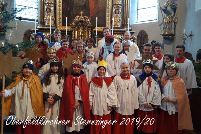 Sternsinger Oberfeldkirchen