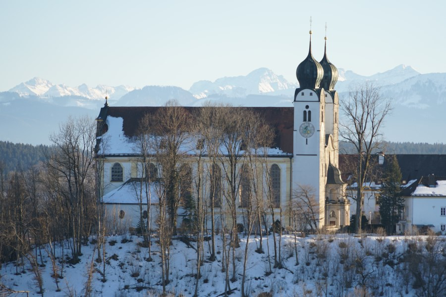 Kirche Baumburg Winter