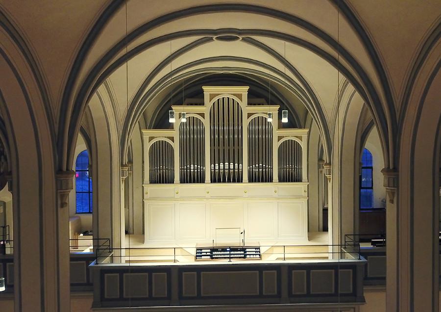 Orgel Dreifaltigkeit Empore