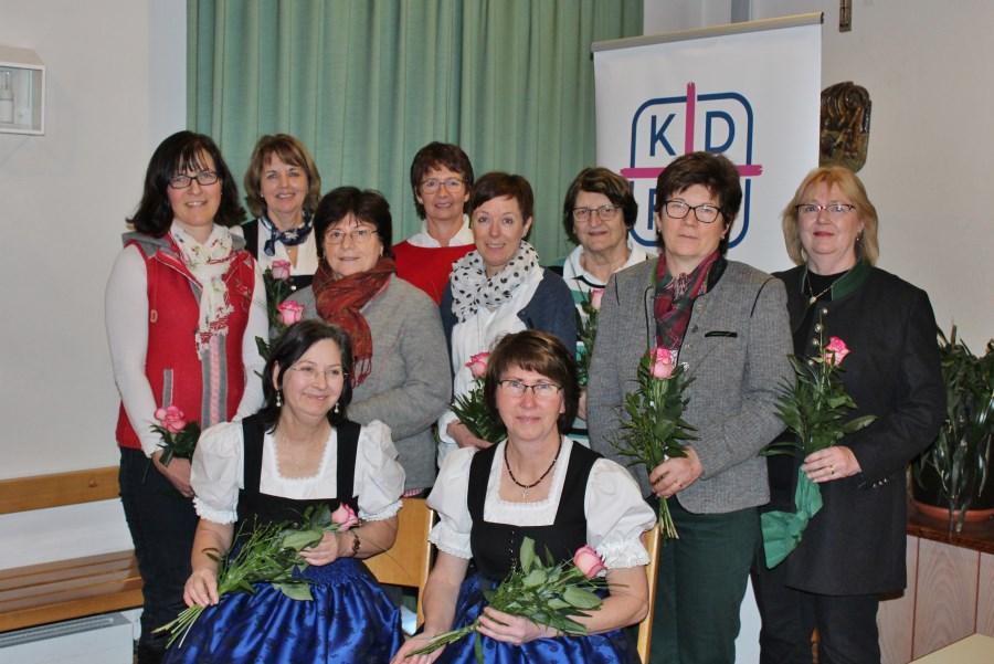 Vorstand KDFB 2020