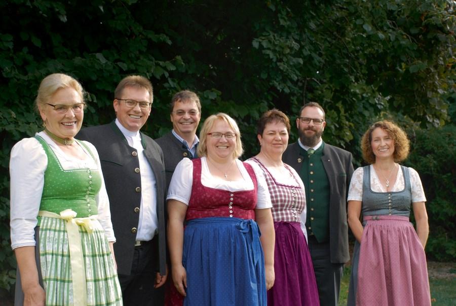 Gruppenbild Leitung Pfarrverband Feldkirchen-Höhenrain-Laus
