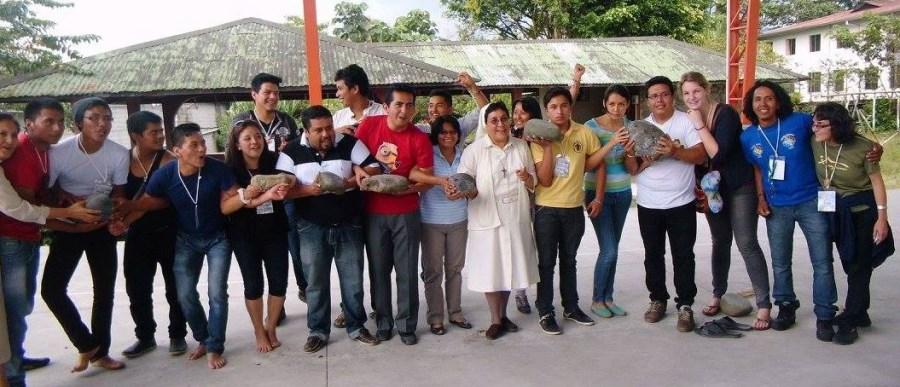 Jugendtreffen in Ecuador 2014
