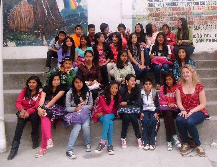 Jugendwochenende in Ecuador