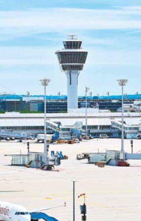 Flughafen in München