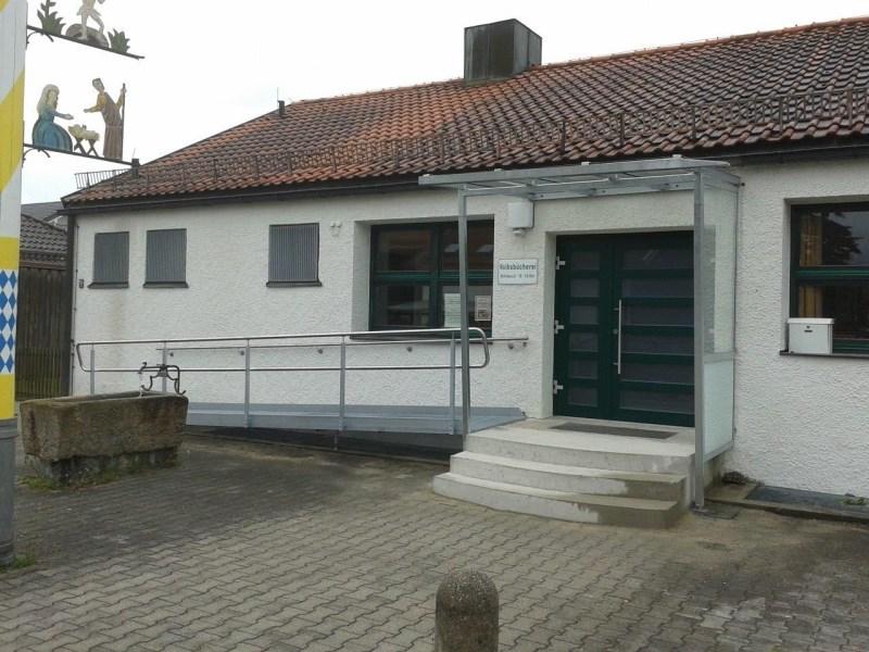 Zugang Pfarrheim HK Hofolding  6