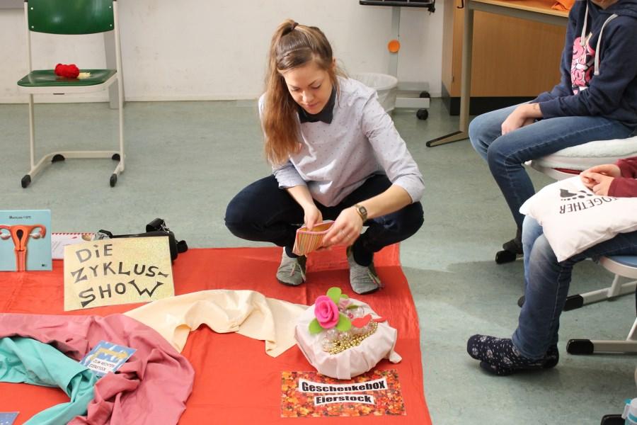 Workshop My Fertility Matters an Maria Ward Realschule München