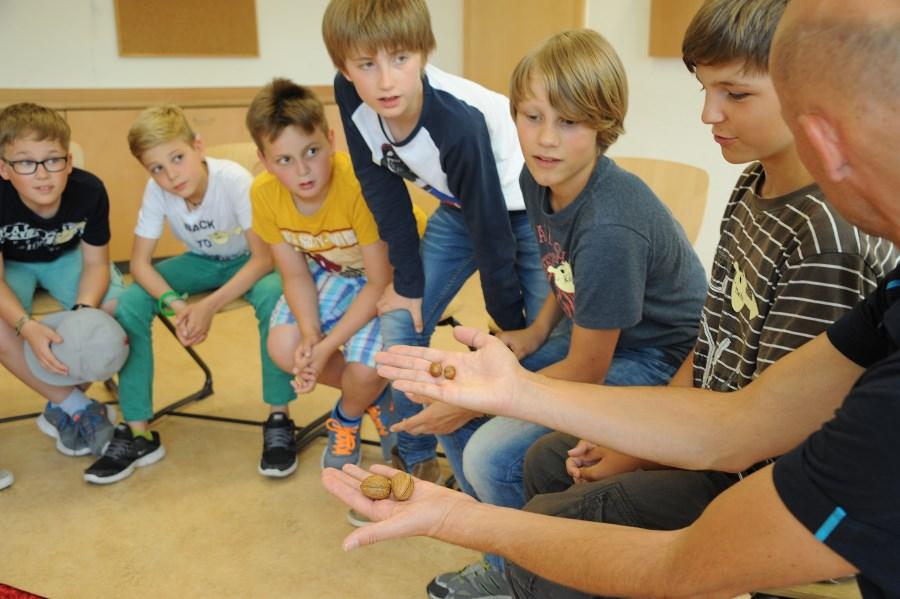 Workshop mit Jungen zu My Fertility Matters an Schule