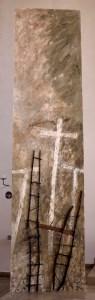 Fastenbild Kreuz Leiter