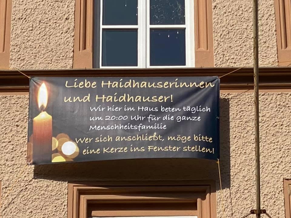 Haidhausen Gebetsaktion