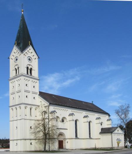 Kirche St. Nikolaus Außenansicht