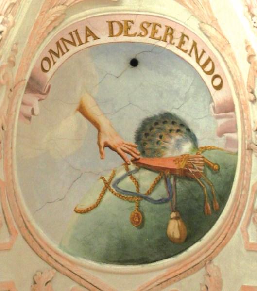 Fresko in der Klosterkirche Fürstenfeld