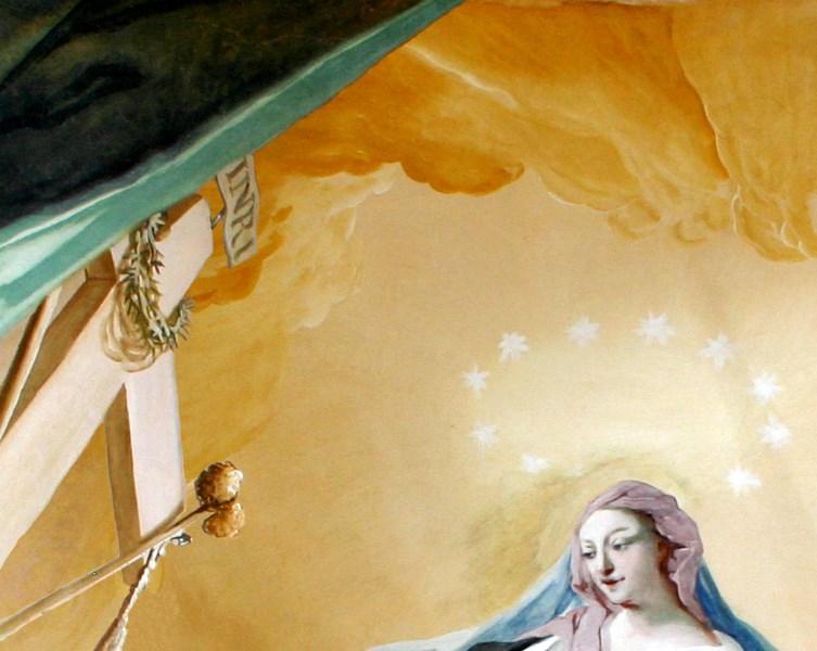 Maria, Schwert, Schmerzen