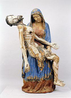 Darstellung Maria mit totem Jesus auf dem Schoß