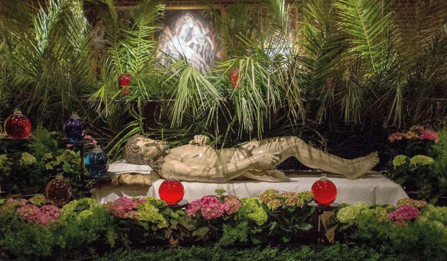 Heiliges Grab in der Domkrypta 2018