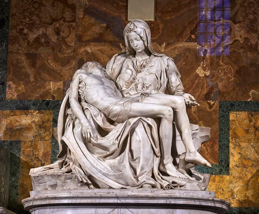 Michelangelos Pietà im Petersdom