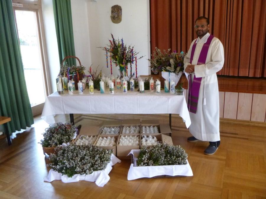 Palmweihe Pater Cleetus