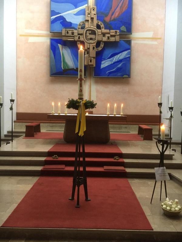 Ostern 2020: Kirche St. Pius X.