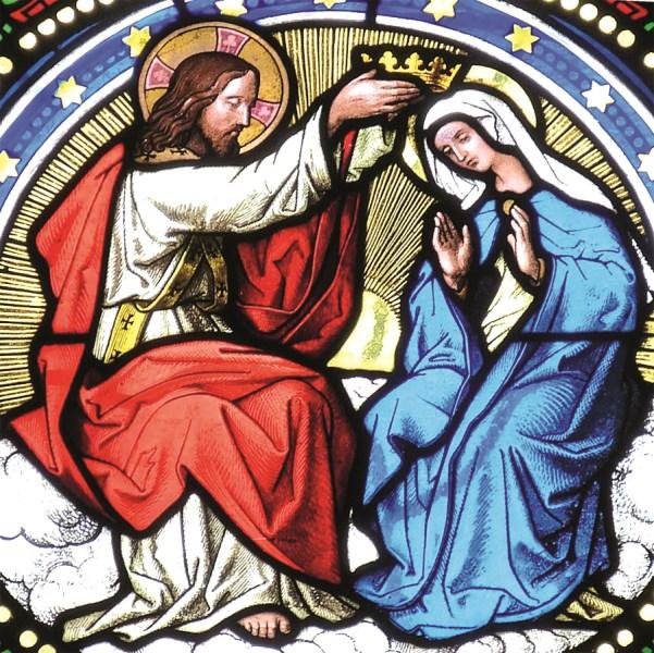 Maria Jesus Krönung Maria Königin