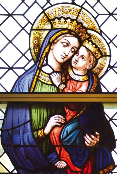 Maria Jesus Königin Fürsprecherin