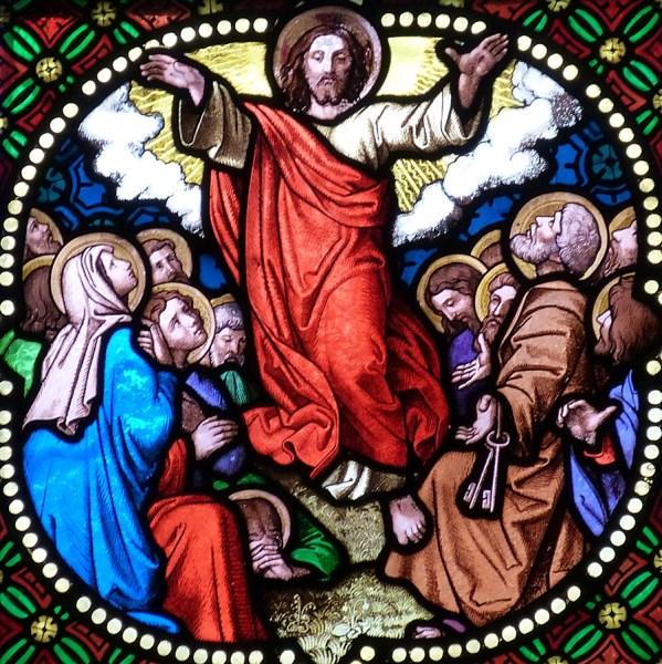 Jesus Auferstandener Christi Himmelfahrt