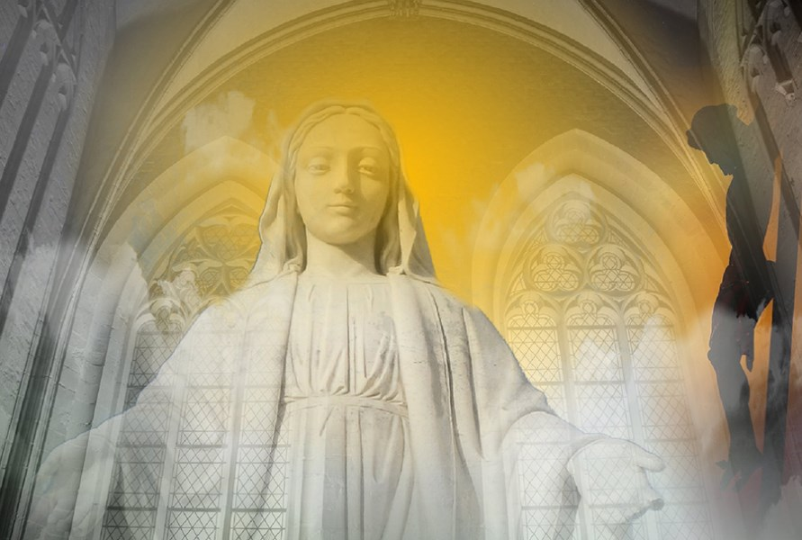 Maria Jesus Verklärung Umbefleckte Immaculata